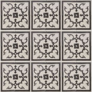 Cement Encaustic Tile Fez Design - 989