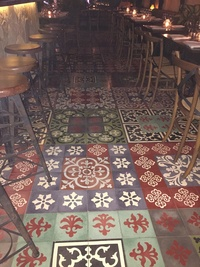 Bar & Restaurant Floor