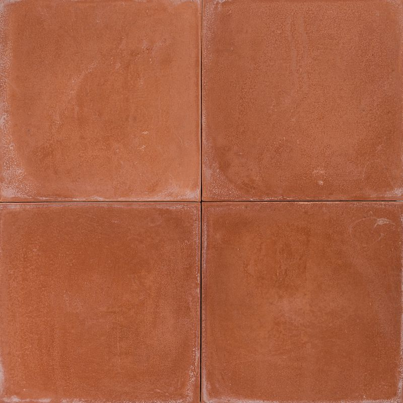 Cement Encaustic Tile Colour Terracotta 2 Eco Tile Factory