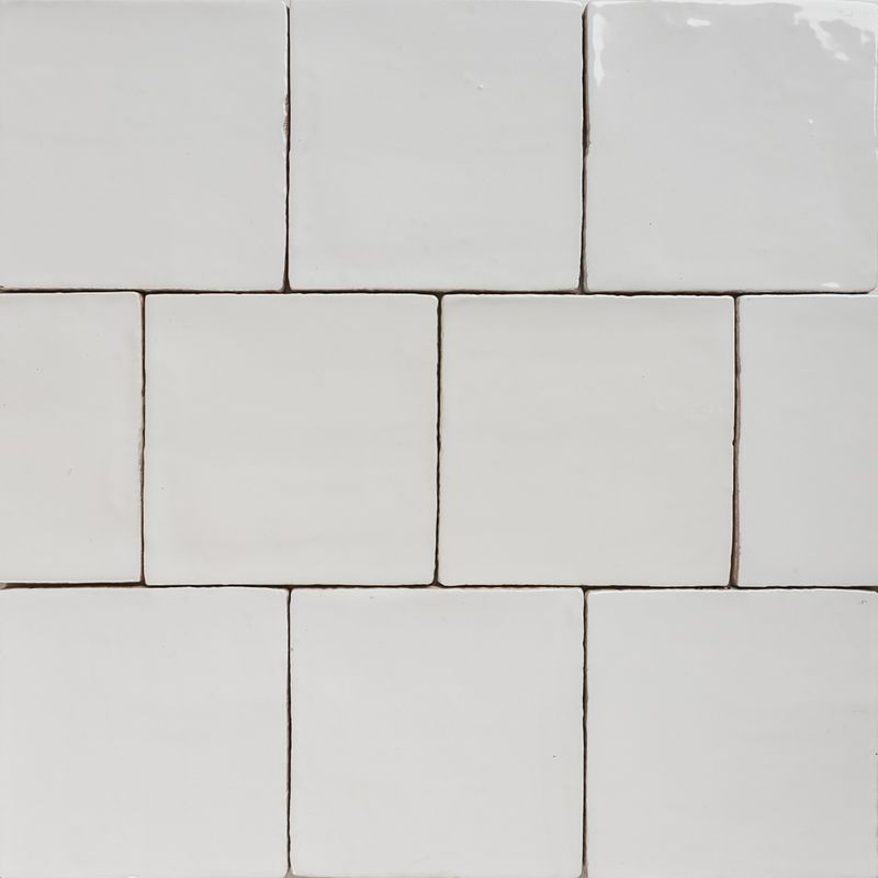 White Gloss Kitchen Tiles