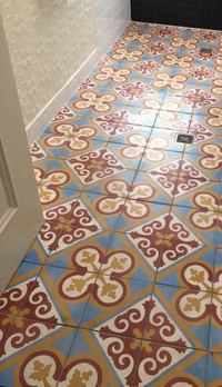 Bathroom Entry Floor