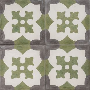 Cement Encaustic Tile Sahara Design — 977