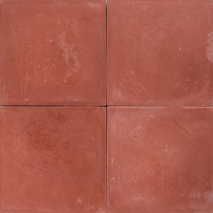 Cement Encaustic Tile Colour Mid Red # 1A
