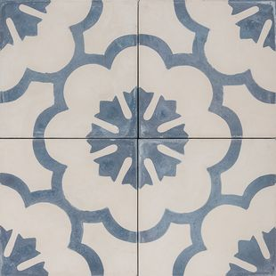 Cement Encaustic Tile Dukkah Design — 984