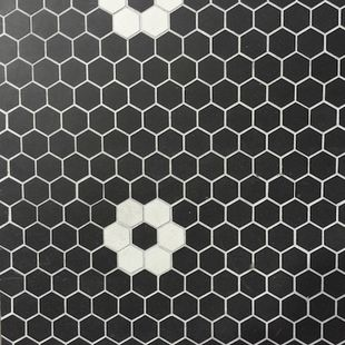 Florette Hexagon Mosaic Design 15