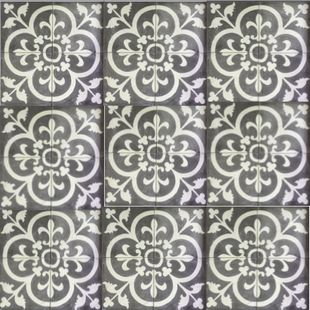 Cement Encaustic Marrakesh Design - 989