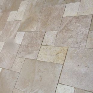 Travertine Marble Tumbled French Pattern