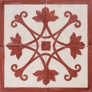 Cement Encaustic Tile Melilla Design — 963