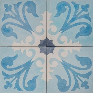 Cement Encaustic Tile Agadir Design — 964