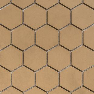 Hexagon Mosaic French Porcelain – Oatmeal Mosaic