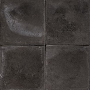 Cement Encaustic Tile Black # 10