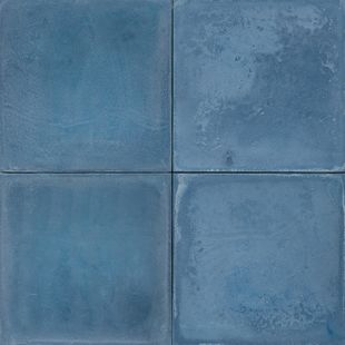 Cement Encaustic Tile  Colour  Indigo # 6