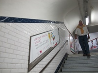Metro in Paris - Subway Tiles