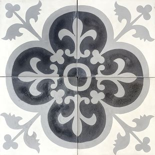 Cement Encaustic Marrakesh Design - 996