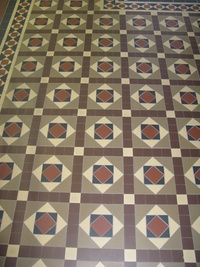 Tessellated Heritage Floor