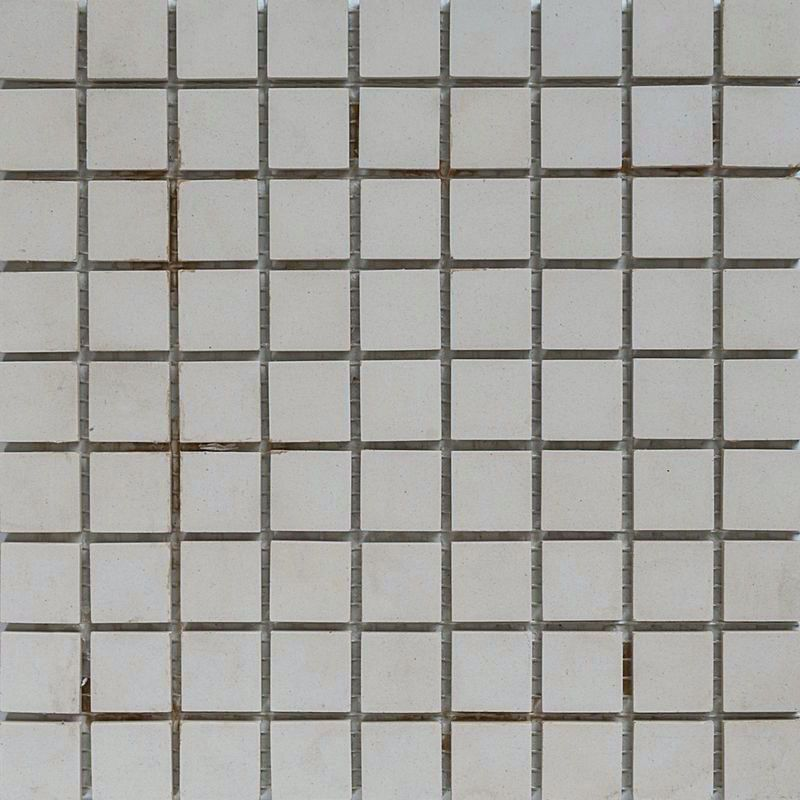 Tile Mosaic French Porcelain - Pearl Grey