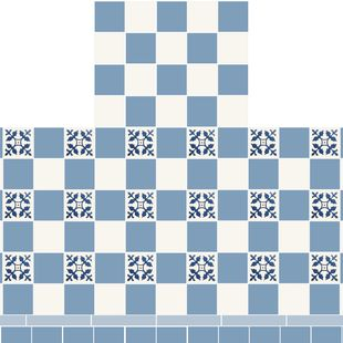 Fireplace - Checkerboard