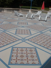 Hotel Decorative Flooring