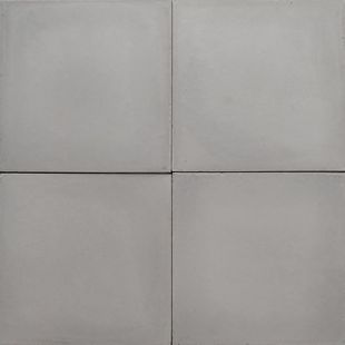 Cement Encaustic Tile Pale  Grey # 10B