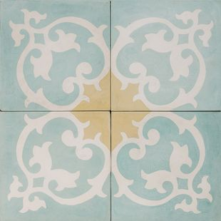 Cement Encaustic Tile Casablanca Design — 999