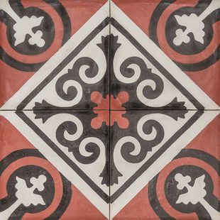 Cement Encaustic Tile Tangier Design — 995
