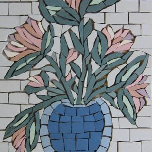 Flower Mosaic French Porcelain — 19