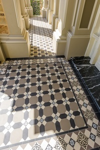 Tessellated Entrance with Marble Step