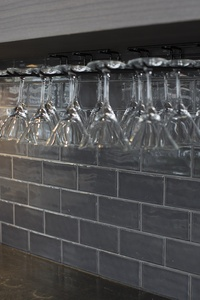 Subway Tiles on Splashback