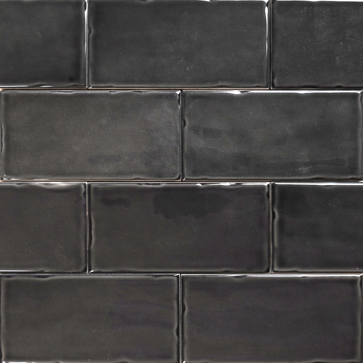 Subway Anthracite Gloss Wall Tiles 150 215 75 Classico