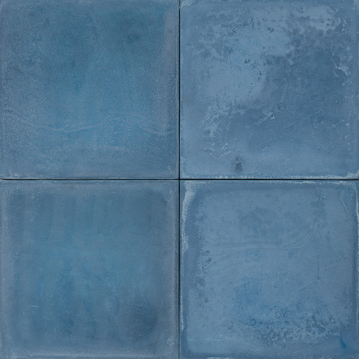 Cement Encaustic Tile Colour Indigo # 6 ~ Eco Tile Factory