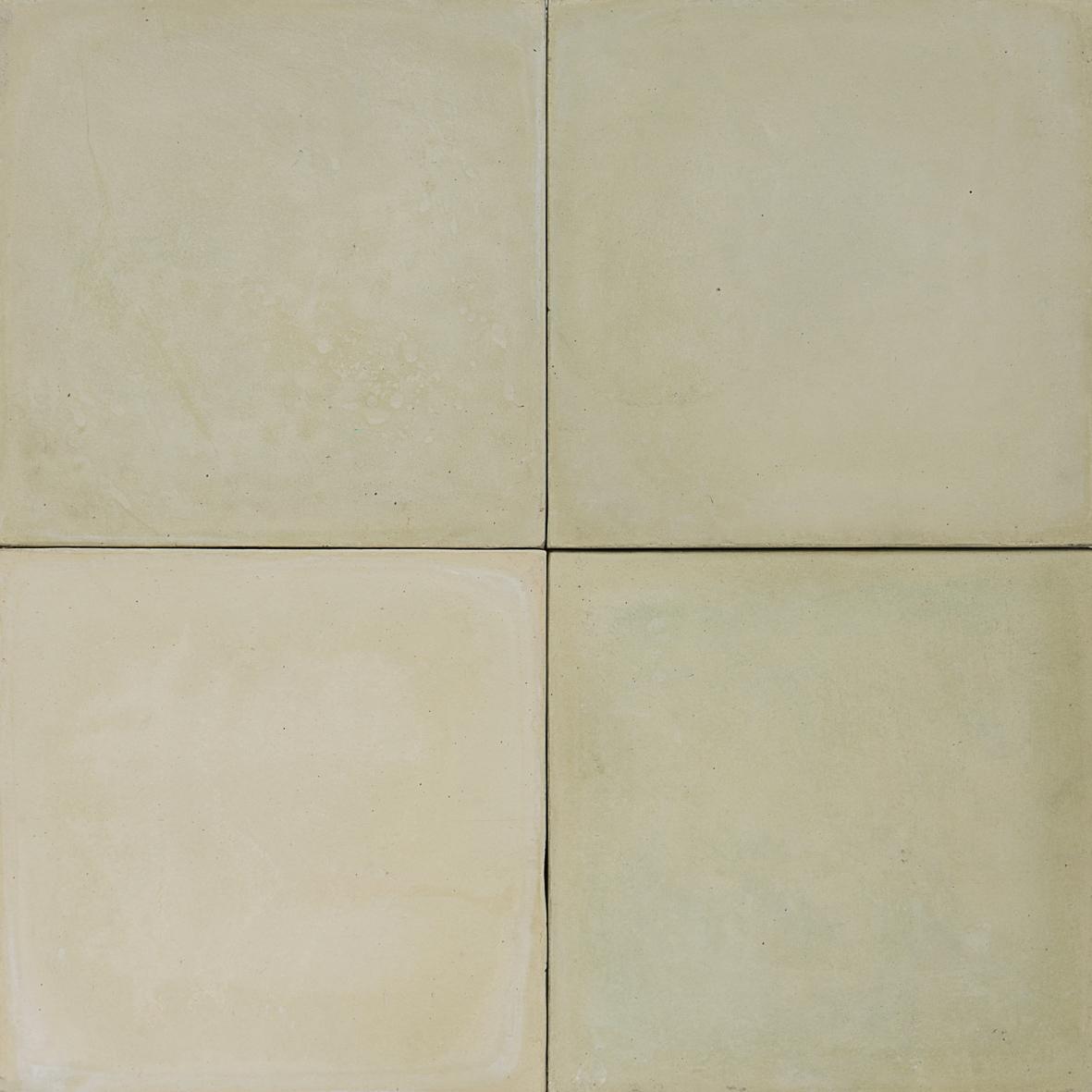 Cement Encaustic Tile Pale Lime Green 9b Eco Tile Factory