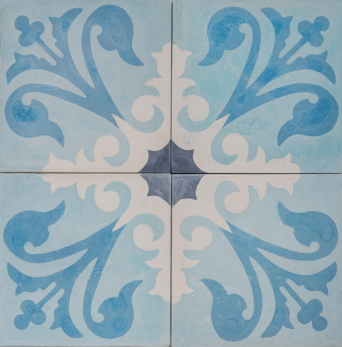 Cement Encaustic Tile Agadir Design — 964 ~ Eco Tile Factory
