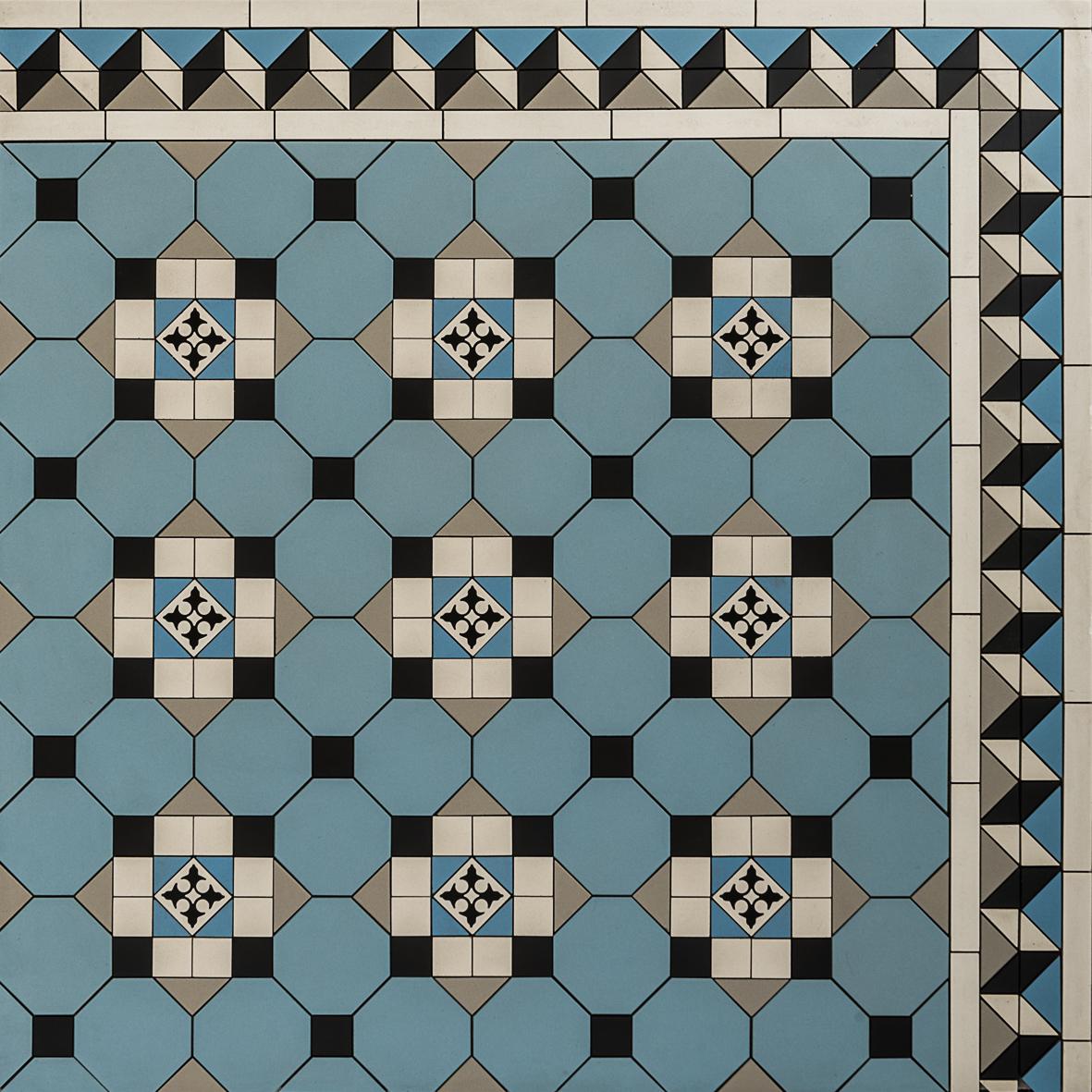 Pattern - Glasgow Diagonal Continuous Design & Bristol Border ~ Eco ...
