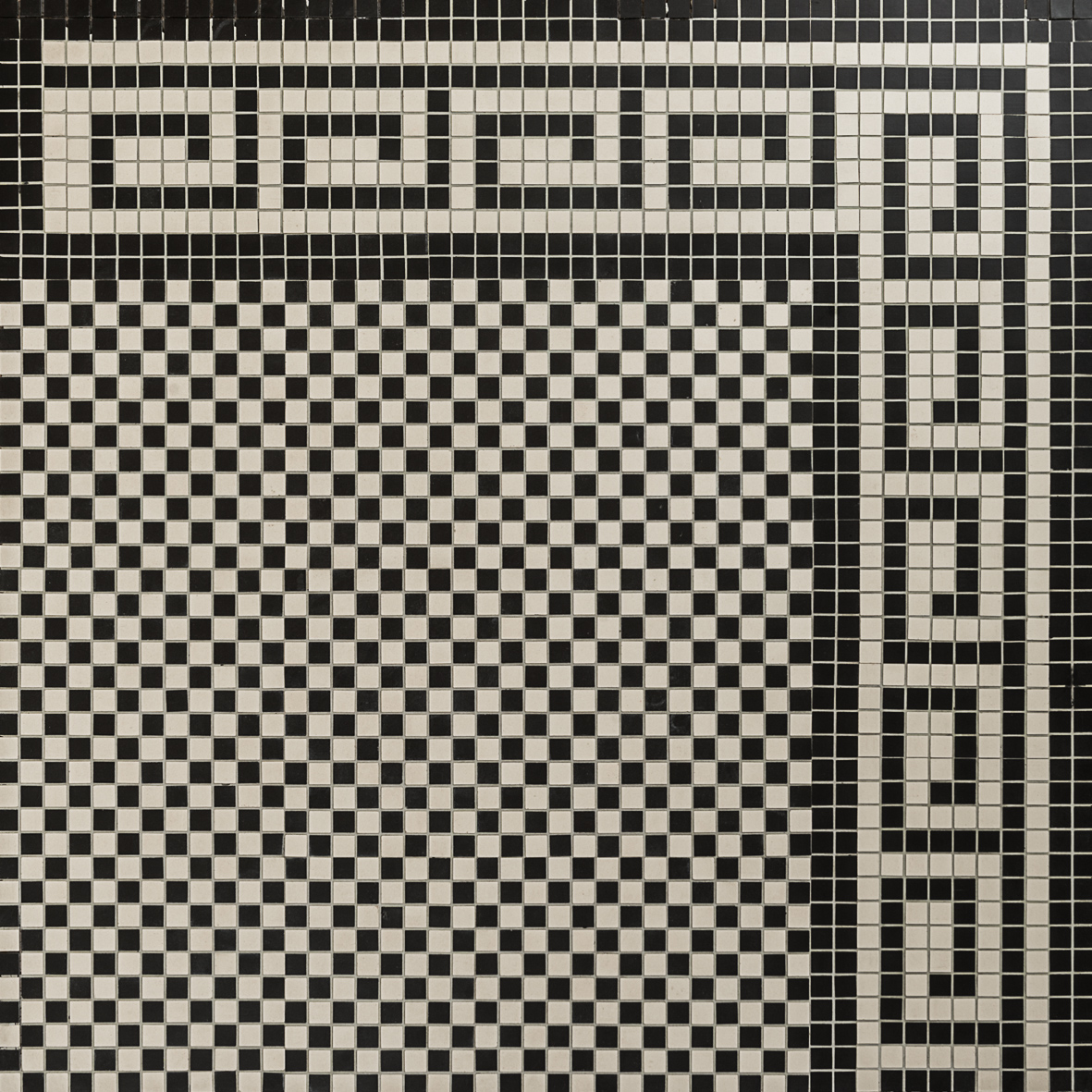 Checkerboard Mosaic Design Amp Greek Border Eco Tile Factory