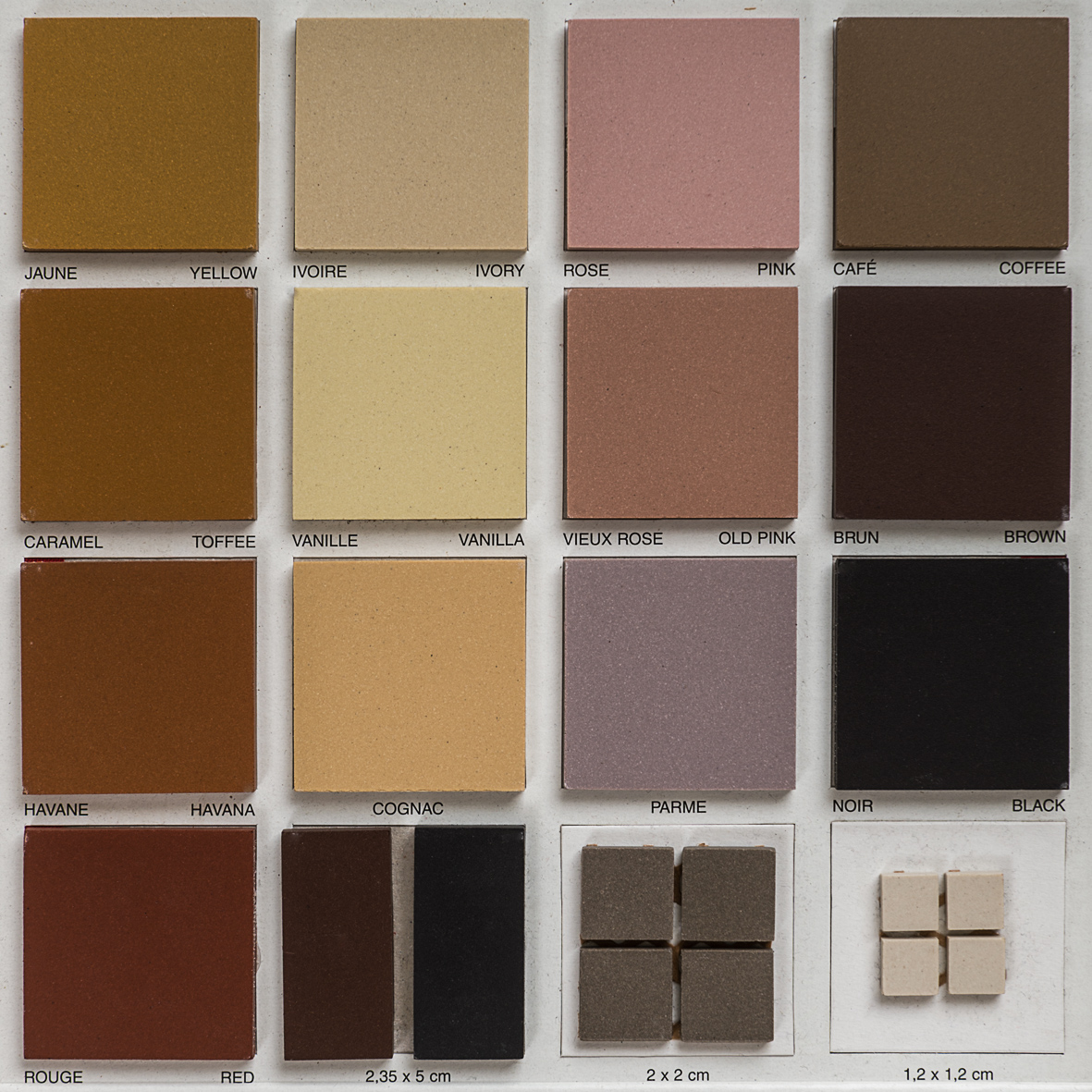 Tessellated Colours Warmer Tones Eco Tile Factory